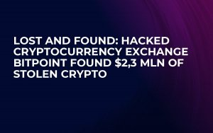 Lost and Found: Hacked cryptocurrency exchange BITPoint Found $2,3 Mln of Stolen Crypto