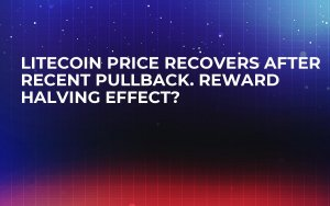 Litecoin Price Recovers After Recent Pullback. Reward Halving Effect?