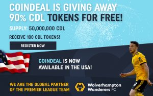 CoinDeal Is Celebrating It's Premier League Sponsorship Renewal with a Unique and Highly Anticipated Token Launch