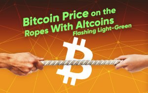 Bitcoin Price Hovering Above $10,000 with Altcoins Flashing Light-Green