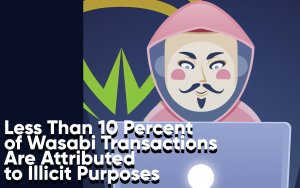 Less Than 10 Percent of Coins Mixed by Wasabi Wallet Are Attributed to Illicit Purposes
