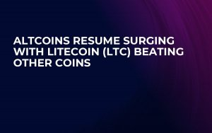 Altcoins Resume Surging with Litecoin (LTC) Beating Other Coins