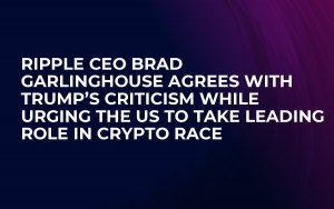 Ripple CEO Brad Garlinghouse Agrees with Trump's Criticism While Urging the US to Take Leading Role in Crypto Race