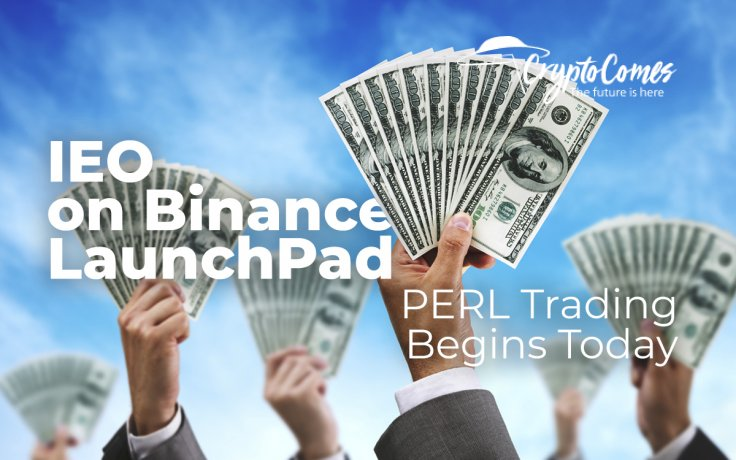 IEO on Binance LaunchPad Raises Highest Amount of BNB Investments, PERL Trading Begins Today: Perlin