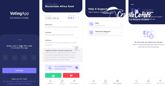 Cardano (ADA) Project Catalyst is live in Google Play