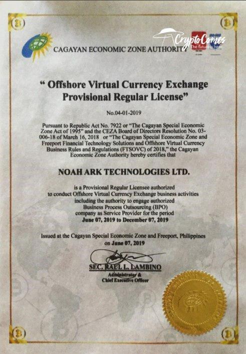 CEZA license