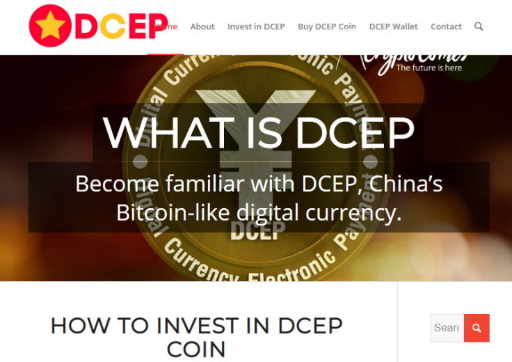 Scammers target DCEP enthusiasts