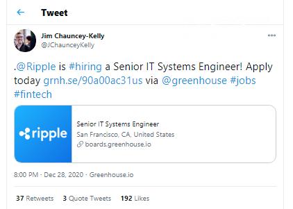 Ripple is hiring